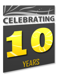 proud to be celebrating over 10 years of sprinkler repair services